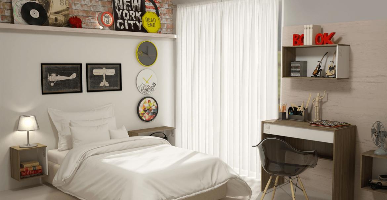 decoração para quarto de adolescentes